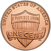 2010 Lincoln One-Cent Reverse
