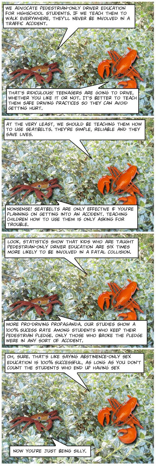 Tree Lobsters!: #131 Safety Measures