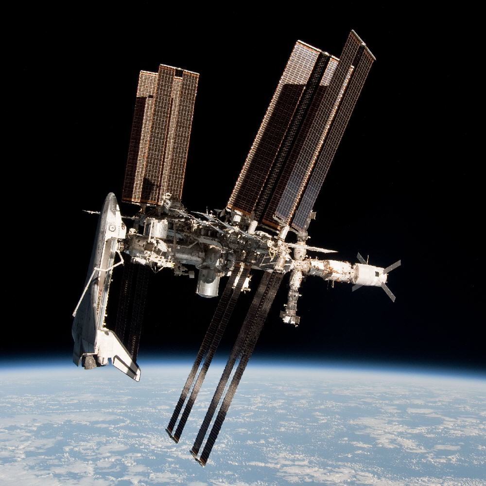 international space station shuttle - photo #2